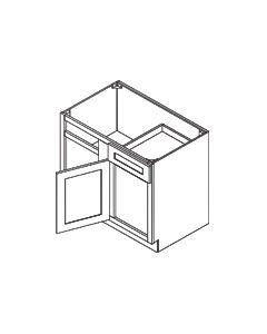 Blind Base Corner Cabinet -Shaker White